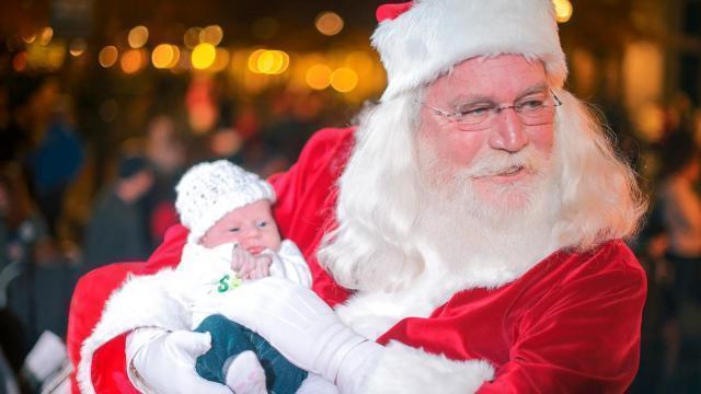 Santa at North Hills