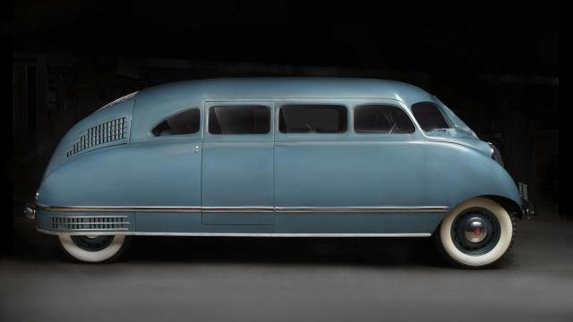 The vehicle is on display at the N.C. Museum of Art's Rolling Sculpture exhibit. Courtesy: N.C. Museum of Art