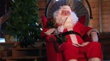 Santa at Historic Yates Mill County Park