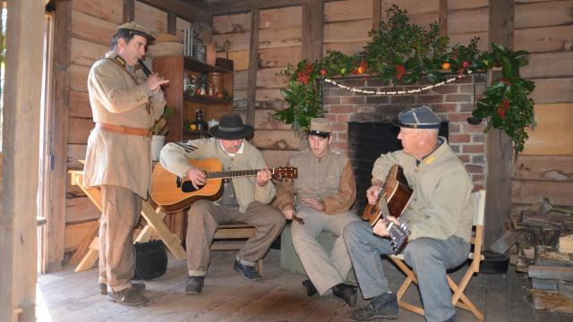 The historic site will host a Christmas open house.  Courtesy: Bentonville Battlefield State Historic Site