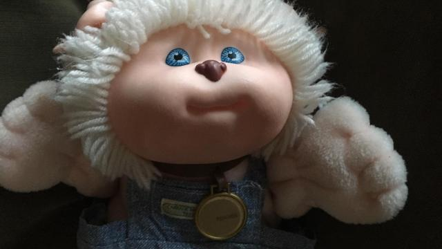 Peaches, my Koosas Cabbage Patch Kid doll