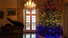 IMAGES: Christmas at North Carolina's Executive Mansion