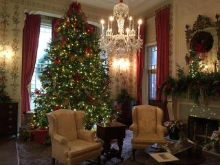 The Executive Mansion, 200 N. Blount St., Raleigh, is open to the public noon to 9 p.m., Dec. 8; 10 a.m. to 6 p.m., Dec. 9; 2 p.m. to 8 p.m., Dec. 10; and 1 p.m. to 4 p.m., Dec. 11.