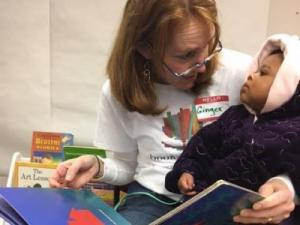 Young is founder Durham-based Book Harvest, which collects and distributes books to needy children.
