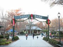 2016 Holiday Express at Pullen Park