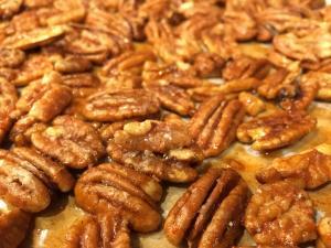 Julia Sims' spiced pecans