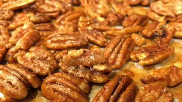 Julia Sims' spiced pecans