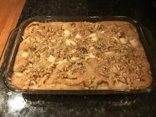 Renee Chou's apple walnut cake