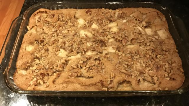Renee Chou's apple walnut cake