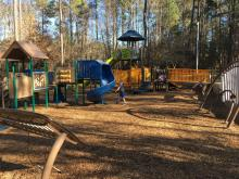 Playground at Crowder District Park, Apex