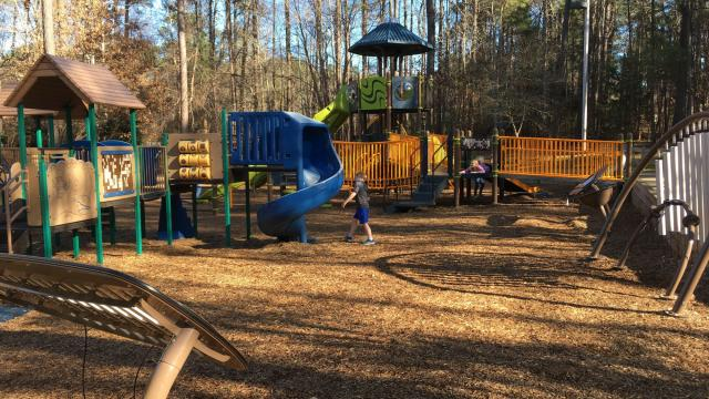 The Wake County park at 4709 Ten Ten Rd., Apex, opened a new playground in November 2016.