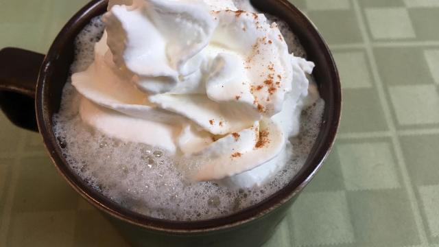 Vanilla steamer