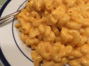 Three ingredient macaroni and cheese