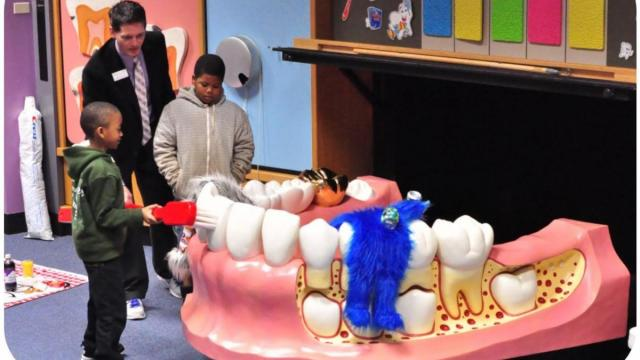 Poe Center in Raleigh to host Terrific Teeth Day, Feb. 4, 2017.