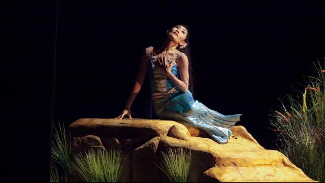 The Little Mermaid 2012, Carolina Ballet Principal Dancer: Margaret Severin-Hansen Photo credit: Armes Photography