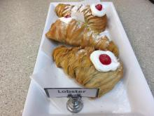 Lobster Tails at Bakery La Dolce Vita