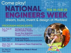 National Engineers Week at Marbles