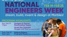 IMAGE: Marbles marks Engineers Week with activities, movie