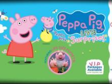 Peppa Pig Live! Surprise is at DPAC on Oct. 10