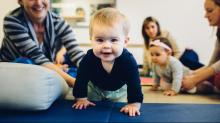 Babies, parents build skills with Babies On The MOVE