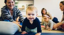 IMAGES: Babies build motor skills with Babies On The MOVE