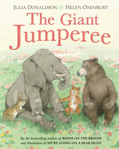"""Children's book author Julia Donaldson will be at Quail Ridge on April 18, 2017 with her new book, """"The Giant Jumperee."""""""