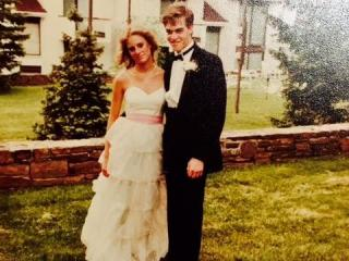 Back then, the prom was all about getting a date. These days, it's all about going with a group.