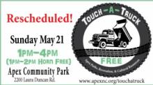 IMAGES: Apex touch-a-truck event postponed because of stormy forecast