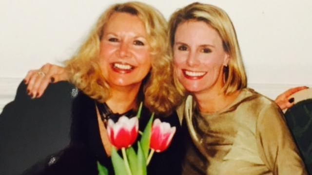 WRAL-TV's Amanda Lamb with her mother, who passed away five years ago.