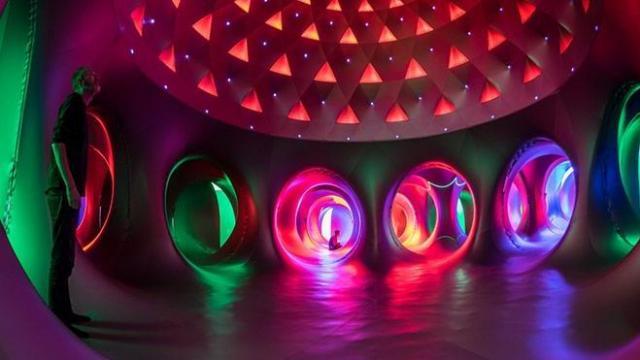 Katena, a luminarium, from Architects of Air