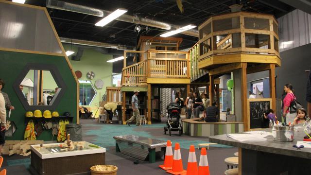 Kidzu Children's Museum treehouse