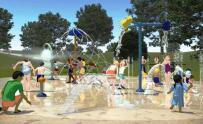 IMAGES: Wake Forest's sprayground opening delayed indefinitely
