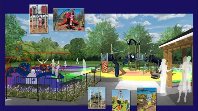 The city of Raleigh is planning an overhaul to the 1950s-era park near the city's Five Points neighborhood.