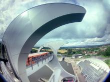 Falkirk Wheel in Scotland