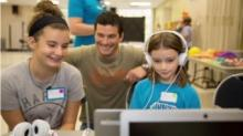 IMAGE: Google Fiber Space hosts new second Saturday family program