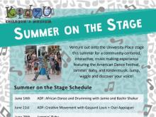 Kidzu's Summer on the Stage at University Place,e Chapel Hill