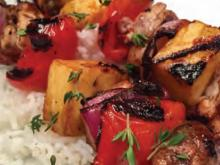 Shizzled Pineapple Kabob