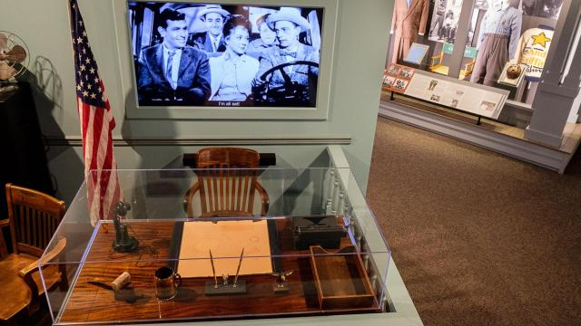 The Andy Griffith Museum has reopened following a renovation of more than half a million dollars that touched on every aspect of the popular attraction. Courtesy: Andy Griffith Museum
