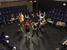 Teens rehearse for Raleigh Little Theatre's production of 'The Tempest'
