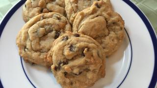 Chewy butterscotch and chocolate chip cookies