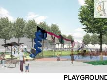 Plans for Chavis Park include a destination playground