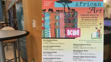 African Art programs at Wake libraries