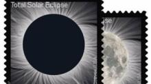 IMAGE: Post office issues stamp that transforms from solar eclipse to moon