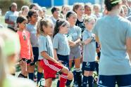 IMAGES: Live Fearless soccer clinic with Mia Hamm