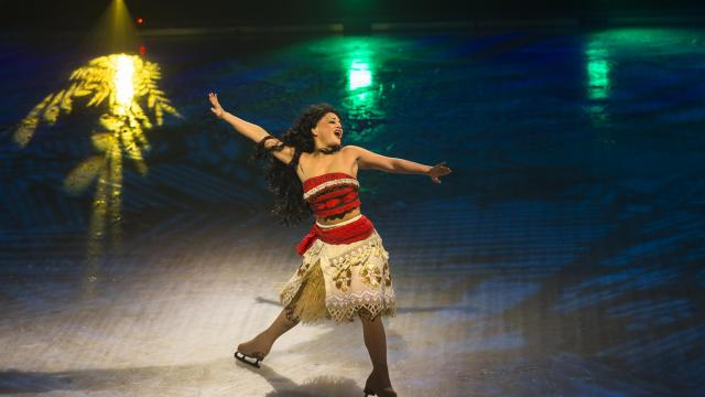 Moana is a star of Disney On Ice's Dare to Dream
