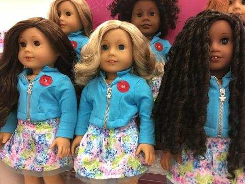 American Girl store at Crabtree Valley Mall