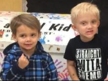 Ridge Riley and Brodie Curtis
