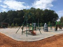 Forest Ridge Park playground in Raleigh