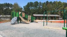 IMAGES: Forest Ridge Park playground in north Raleigh