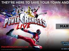 Power Rangers Live to stop at DPAC in March 2018